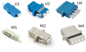 MT-1032-LC LC Fiber Optic Adaptor Adapter-Comm Cable Simplex & Duplex Singlemode & Multimode Coupler-Melontel