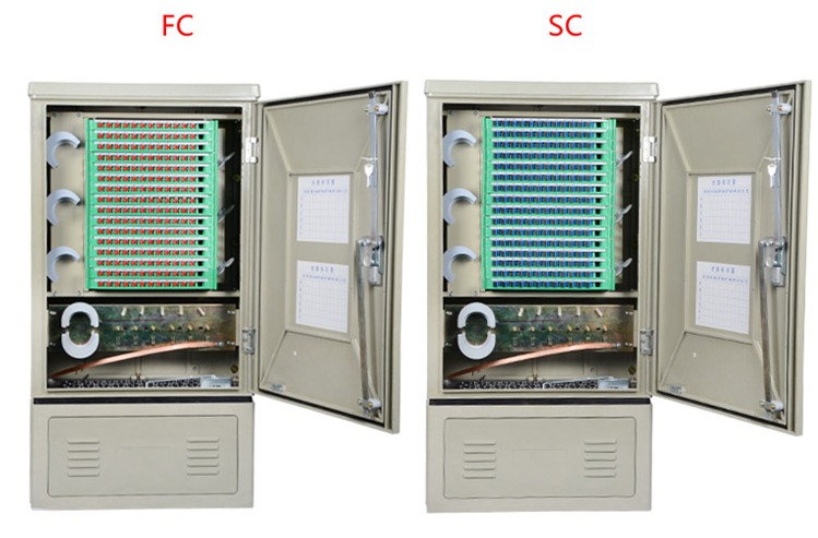 MT-1304 SMC 144 Core Fiber Optic Cross Connecting Cabinet
