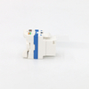 MT-5109 RJ45 Keystone Jack CAT6 CAT.5E CAT.6A Toolless Type with Dust Cover