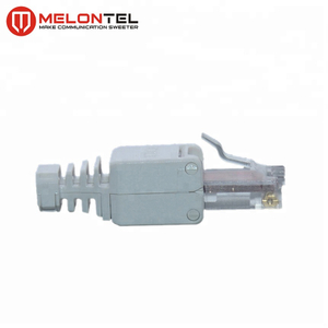 MT-5056 CAT.5E CAT.6A CAT.7 Toolless Type UTP STP Shield Connector RJ45 Modular Plug