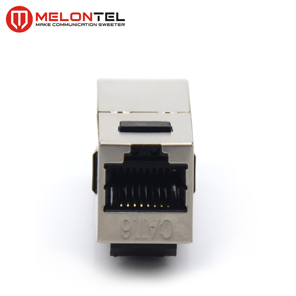 MT-5404 STP RJ45 Inline Cable Coupler Keystone Jack CAT.5E CAT.6