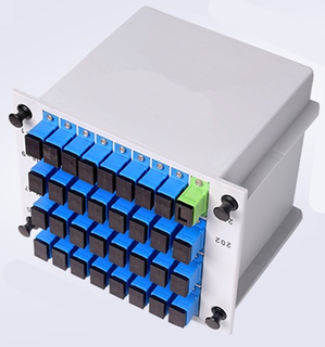 MT-1081-32A splitter sc/upc cassette type 1*32Splitter For Fiber Optic Internet With SC Adaptor