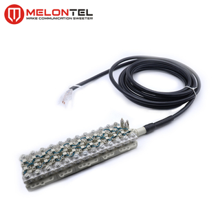 MT-3004 5 10 15 20 Pair Drop Wire Module STUB Connector Drop Wire Block STUB Module With cable Tail