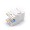 MT-5106 180 Degree RJ45 Cat5e Cat6 UTP Female Keystone Jack