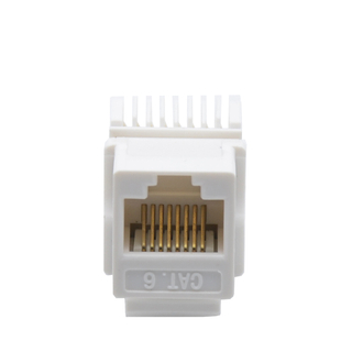 MT-5105 CAT.5E/CAT.6 RJ45 Keystone Jack Toolless Type with Cover
