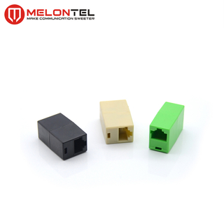MT-5401 Network Female To Female Connector RJ45 Inline Cable Coupler Single Port UTP Type
