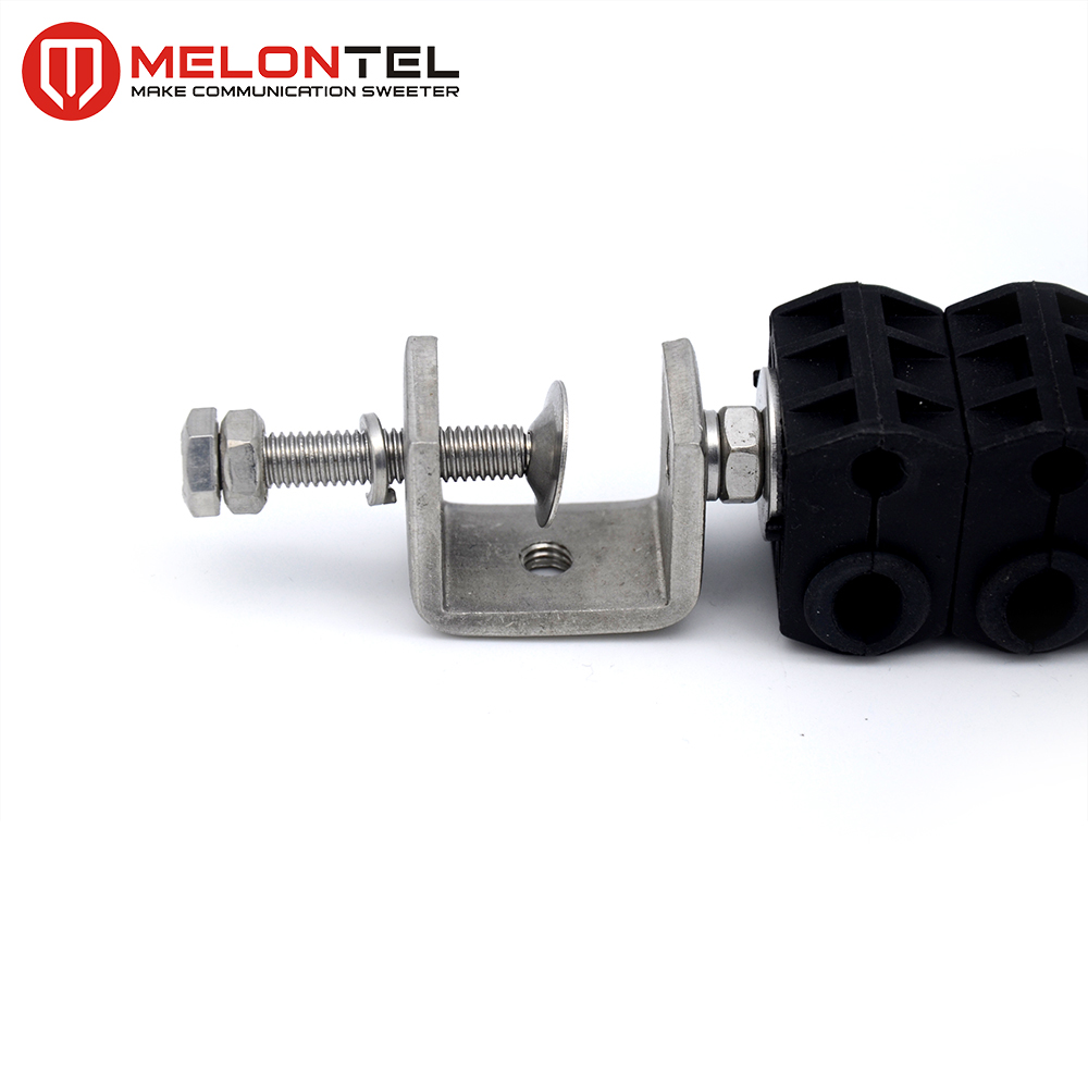 MT-1724 sleeve fiber cable suspension clamp for outdoor fiber cable