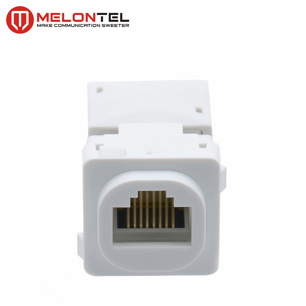 MT-5120 Australia Type Keystone Jack Clipsal Outlet RJ45 Dual Type
