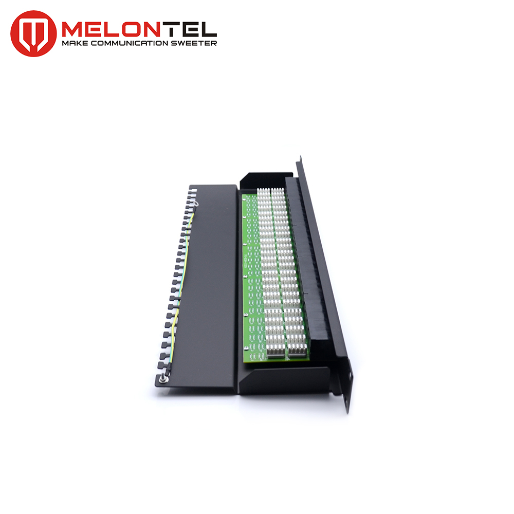 MT-4004 RJ11 19 Inch Cat3 50 Port Voice Patch Panel for Telephone