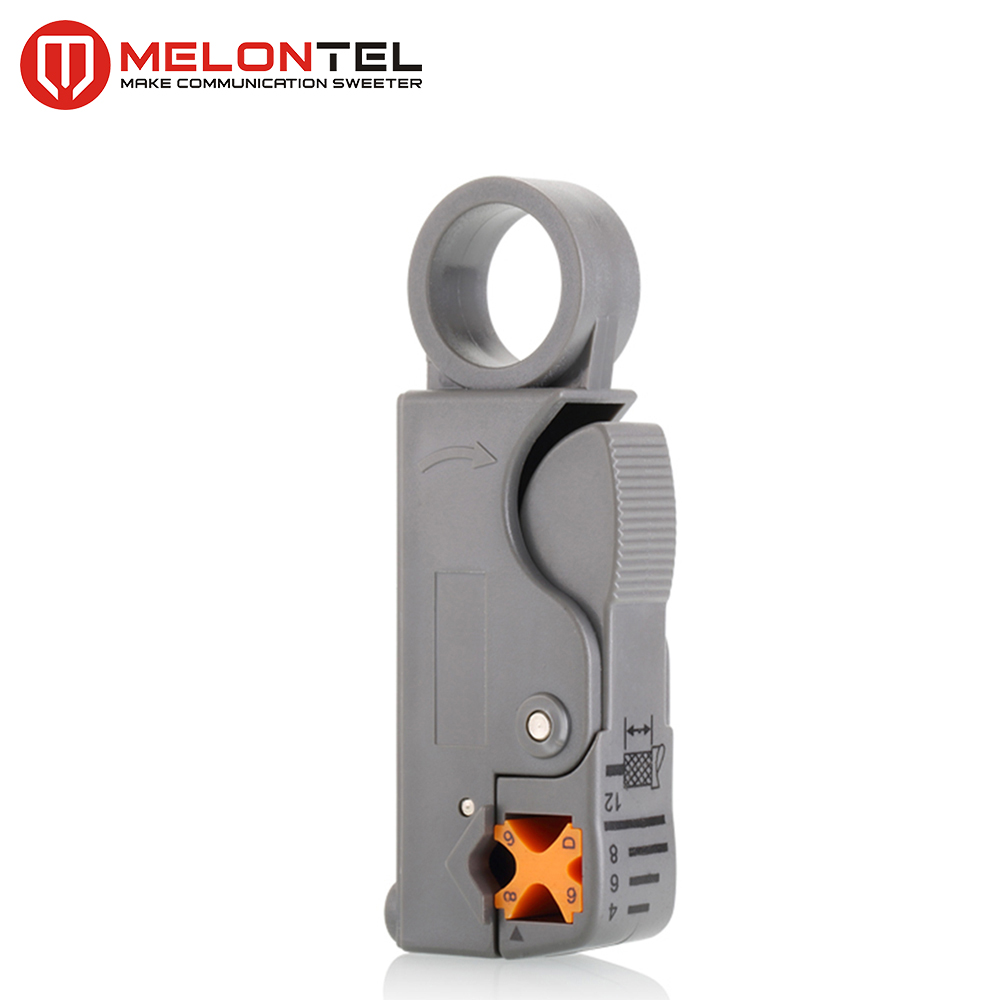 MT-8914 Hand Tools Mini Cable Crimping Cutter Type Flat Coax Cable Stripper