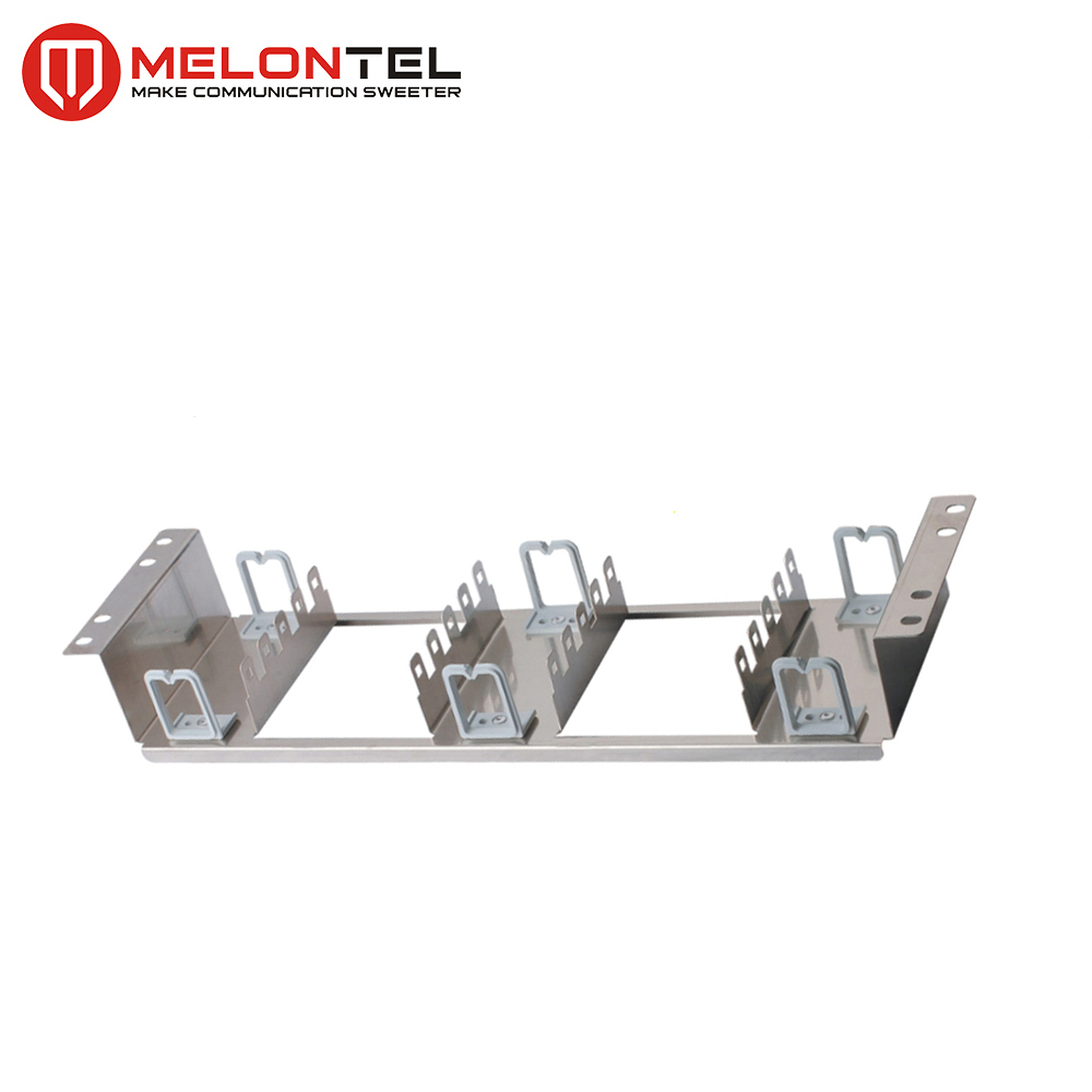 MT-2221 krone 6427 1 017-01 19 inch 100 150 pair rack 304 stainless steel patch panel mount back mounting frame