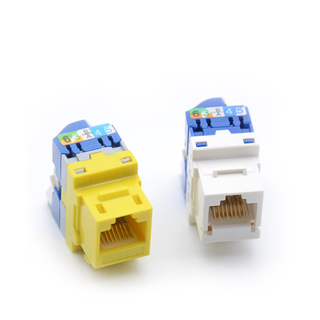 MT-5108 Toolless RJ45 Modular CAT6 CAT6a CAT5E Jack Module Modular with Turning Plastic Handle