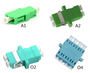 MT-1032-LC2 LC Female Connector Multimode APC Duplex OM3 4 Core Fiber Optic Adapter