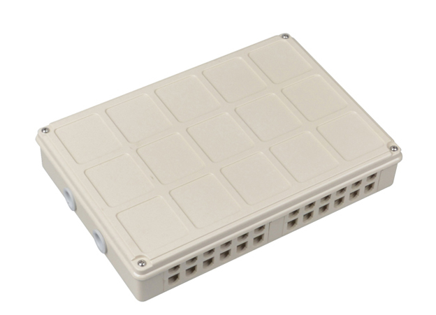 MT-1219 Wall Mount Type Indoor ATB FTTH Access Terminal Box FAT 24 Port Junction Box