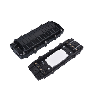 MT-1504 Wholesale Waterproof Straight Type 72 96 144 Core Fiber Optic Splice Enclosure